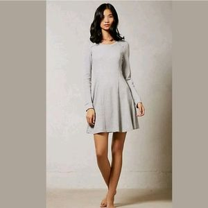 E By Eloise Chiara Waffle Knit Sweater Dress Flare